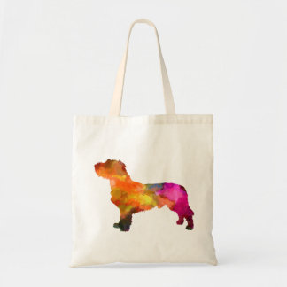 Fawn Brittany Basset in watercolor Tote Bag