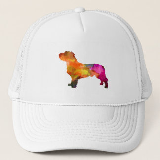 Fawn Brittany Basset in watercolor Trucker Hat