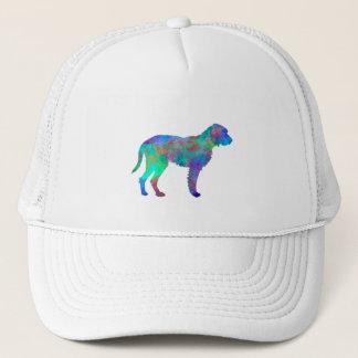 Fawn Brittany Griffon in watercolor Trucker Hat