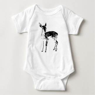 Fawn Deer Infant One Piece Baby Romper Bodysuit