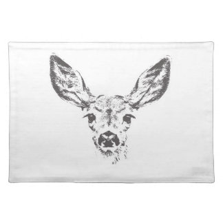 Fawn deer placemats
