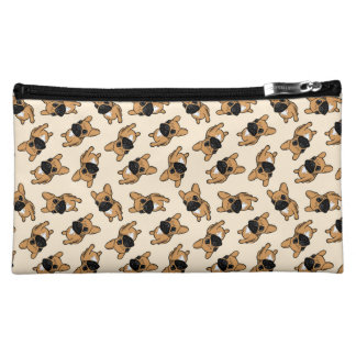 Fawn Frenchie Puppy Cosmetic Bag