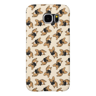 Fawn Frenchie Puppy Samsung Galaxy S6 Cases