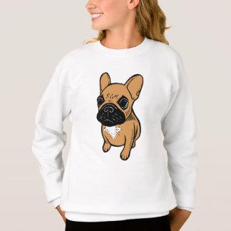 Fawn Frenchie Puppy Sweatshirt