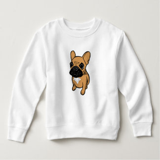 Fawn Frenchie Puppy Sweatshirt