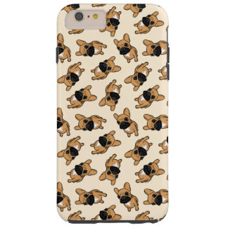 Fawn Frenchie Puppy Tough iPhone 6 Plus Case