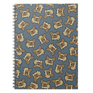 Fawn Frenchie Spiral Notebook