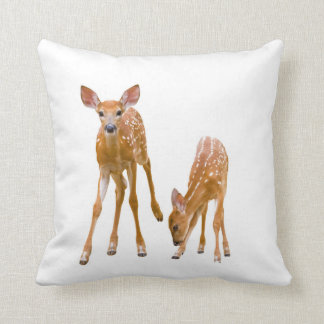 Fawn image for Throw-Cushion Throw Pillow