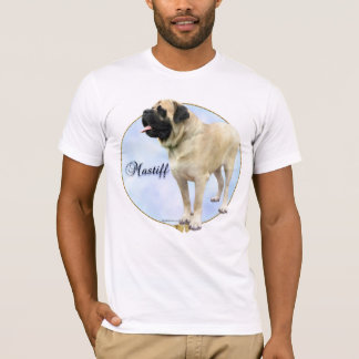 Fawn Mastiff Portrait T-shirt