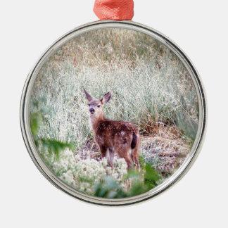 Fawn Metal Ornament