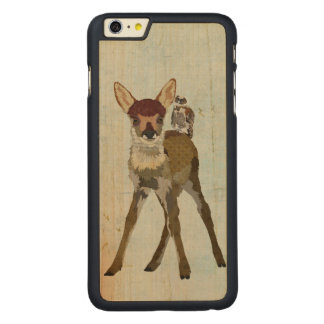 FAWN & OWL Carved iPhone Case