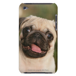 Fawn Pug Puppy Panting iPod Case-Mate Case
