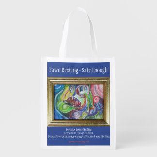 Fawn Resting - Safe Enough Reusable Grocery Bag