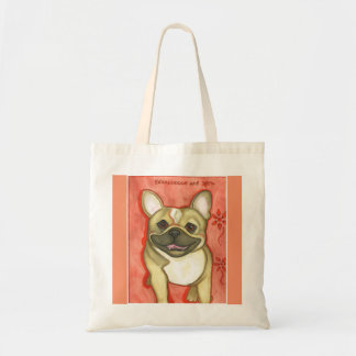 Fawn with mask French Bulldog tote