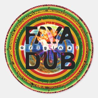 Faya Dub Stickers