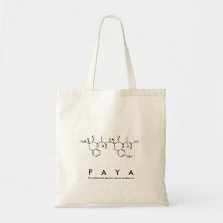 Faya peptide name bag