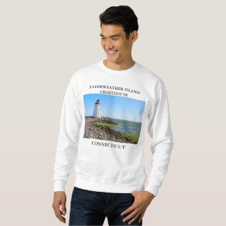 Fayerweather Island Lighthouse, Connecticut Sweatshirt