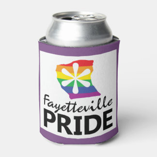 Fayetteville Pride Can Cooler