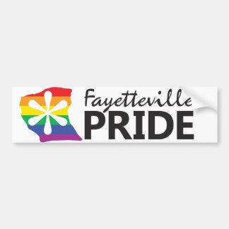 Fayetteville Pride Logo Bumper Sticker