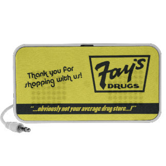 Fay's Drugs | the Immortal Yellow Bag Speaker System