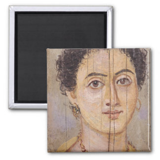Fayum portrait of a woman magnet