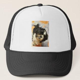 FB_IMG_1481505521015 Shitzu dog Trucker Hat