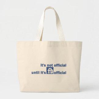 fb official tote bag