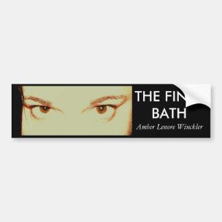 fb, THE FINAL BATH bumper sticker