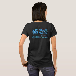 FBC 65 Year Women's Black T-shirt
