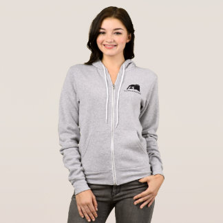 FBC Women's Grey Zip up Hoodie