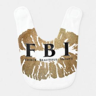 FBI Baby Bib