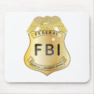 FBI Badge Mouse Pad