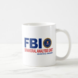 FBI BAU Criminal Coffee Mug