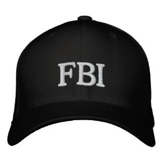 FBI CAP EMBROIDERED HAT