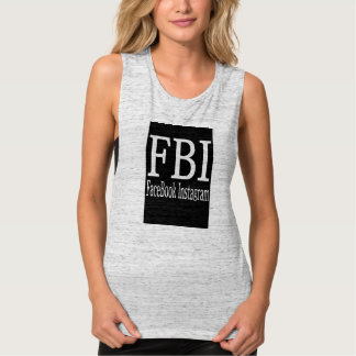 FBI Crop Tank top