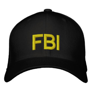 FBI EMBROIDERED BASEBALL CAPS