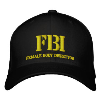FBI EMBROIDERED HAT