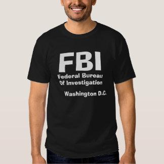 FBI, Federal Bureau , Of Investigation, Washing... Tshirts