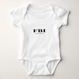 FBI. female Body inspector Baby Bodysuit