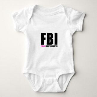 FBI Female Body Inspector Baby Bodysuit