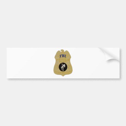 fbi female body inspector bumper stickers