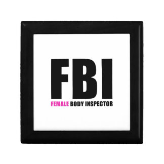 FBI Female Body Inspector Gift Boxes