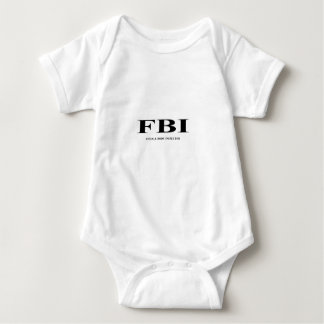 FBI. female Body inspector Tee Shirt