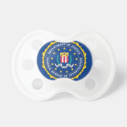 FBI Flag Pacifier