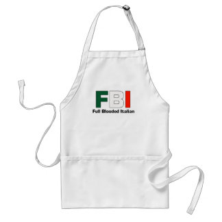 FBI Full Blooded Italian Cooking Aparon Standard Apron