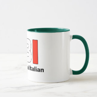 FBI Full Blooded Italian Green Coffee Mug