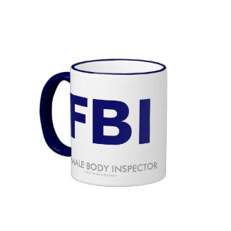 FBI COFFEE MUG