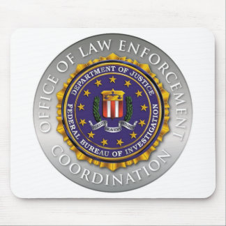FBI Office OF Law Enforcement Mouse Pad