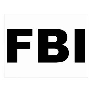 FBI POSTCARD