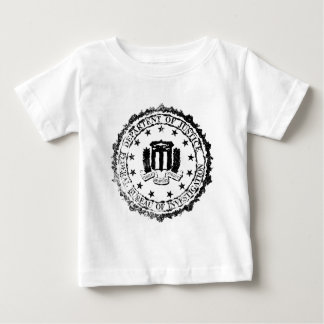 FBI Rubber Stamp Baby T-Shirt
